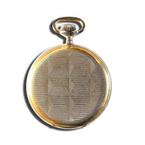 J52 pocket watch rear side
