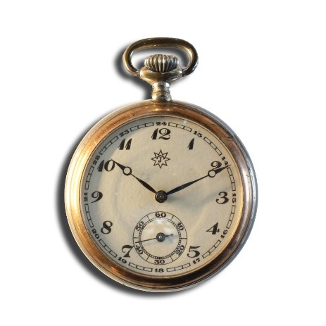 J52 pocket watch front side